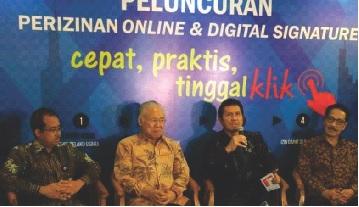 Kemendag Luncurkan Pelayanan Perizinan Online dengan Digital Signature