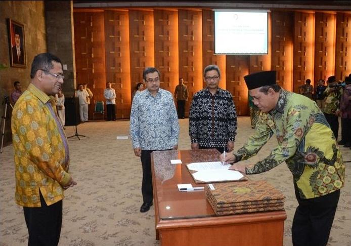 Menteri Perindustrian Melantik 43 Pejabat Pimpinan di Lingkungan Kemenperin